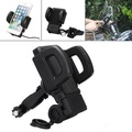 Outdoor Waterproof USB Charging Motorcycle Handlebar Phone Holder Stand for Xiaomi Mobile Phone