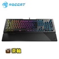 Roccat VULCAN 120 AIMO RGB 機械電競鍵盤-茶軸英文(Vulcan120(US)BW)/RGB背光/可拆式手墊/鋁製面板