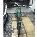 海尼根 小折 折疊腳踏車
