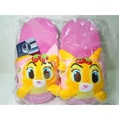 日本迪士尼邦妮兔可愛玩偶娃娃柔軟保暖室內拖鞋