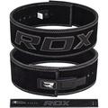 【RDX】英國 RDX 10mm全真⽜⽪健⾝快扣腰帶 黑 / 棕 健力 舉重 重訓腰帶