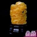 金田黃 巧雕小品 《碞磊國際水晶礦石》