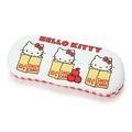 X射線【C428467】Hello Kitty 眼鏡盒-蘋果,眼鏡收納架/眼鏡盒/眼鏡掛架/太陽眼鏡盒