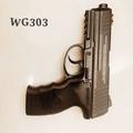 全新加強版WG303全金屬槍身 初速200    co2槍