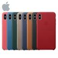 iPhone 蘋果 Xs max 皮革保護殼(原廠公司貨)