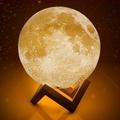 【旭創光電】3D月球造型LED夜燈13CM