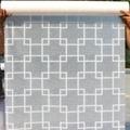สติ๊กเกอร์ฝ้าติดกระจก แบบมีกาวในตัว ม่านจีน (หน้ากว้าง 90cmx500cm)