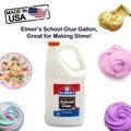 Elmer's School Glue Gallon, Great for Making Slime
