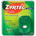 Zyrtec Prescription-Strength Allergy Medicine Tablets With Cetirizine, 5 Count, 10 mg, Travel Size - intl