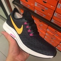 Nike Air Zoom Pegasus 35 粉黃慢跑鞋942855-008 女鞋