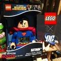 美國 Lego 樂高 DC Superman 超人 鬧鐘 時鐘 公仔 玩具 蝙蝠俠 電子鐘 超級英雄 正義聯盟