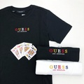 GUESS Los Angeles 彩字短T