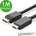 【綠聯】1M DP轉HDMI線/DisplayPort轉HDMI線
