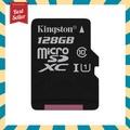 128 GB MICRO SD CARD (ไมโครเอสดีการ์ด) KINGSTON CLASS 10 ( SDC10G2/128GBFR )