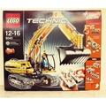 """[全新未拆] LEGO 樂高 8043 TECHNIC 科技系列 絕版收藏品 遙控挖土機 全新未拆 """"盒損"""" 降價出售"""