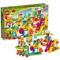 樂高新品得寶系列兒童益智拼裝拼插積木玩具禮物大型游樂園10840