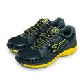 【DIADORA】全地形專業慢跑鞋 KEEP ON 烈速飛奔系列 黑黃灰 2930 男