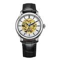 【神梭鐘錶】RHYTHM WATCH 麗聲鏤空金機蕊直視律動機械自動上鍊皮帶腕錶 型號:A1511L01
