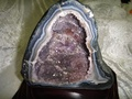 紫水晶洞帶鈦晶~母親節免運