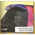 Honda Stream Year 01'-03' OEM Style Spoiler with LED [FRP]