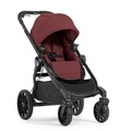 Baby jogger - City select LUX 時尚升級 單雙人全能推車- 紅(第二座椅需另購)