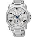 SEIKO 精工Premier 王力宏廣告款萬年曆時尚腕錶(銀/43mm) SNP139J1/7D56-0AE0S