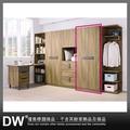 【多瓦娜】18195086005 佛羅倫斯2.5尺單吊衣櫥(HY611)
