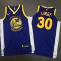 【環球運動】電繡版球衣 勇士隊30號斯蒂芬·庫裏 Stephen Curry 球衣 球員版藍色籃球服