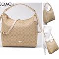 Coach 34910 Celeste Convertible Hobo Handbag (Khaki)