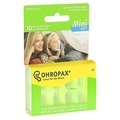 德國 Ohropax Mini Soft 隔音消音抗噪舒適耳塞 CE歐盟認證 20617