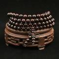 📣現貨 印度小葉紫檀金星佛珠手串 高油密 小葉紫檀老料 108顆*8mm 念珠 項鍊 手鍊
