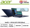 Acer Swift 5 SF514-52T-5702 (Blue) Thin & Light Laptop - Free Gift with purchase