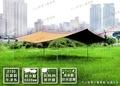 【露營趣】中和 TNR-193-2 BOAR CAMP 5*8M 全套組210D長方形天幕(黃棕色) 天幕帳 炊事帳 客廳帳 TP-742 TP-842