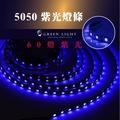 台製 LED UV 紫外線 螢光燈 防水燈條 條燈 5050 60燈 線燈 殺菌消毒 衣服 水族箱 美容 裝飾 間接照明