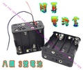 @宙威@ 12V電池盒 8顆3號電池盒 行動電源盒 隨身照明 LED電池盒 乾電池盒 12V隨身電源