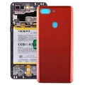 Curved Back Cover for OPPO R15 Pro(Red)