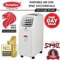 *Time Sale* EuropAce Portable AirCon 12000BTU EPAC 12C - 5 years compressor warranty