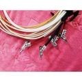 81.原裝TIMES MICRO WAVE雙屏蔽同軸銀線2.8米*4 BI-WIRE專用喇叭線特價每組9000元