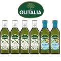 【Olitalia奧利塔】特級初榨橄欖油+玄米油禮盒組(500mlx6瓶)