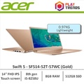 Acer Swift 5 SF514-52T-57WC (Gold) 14inch Thin and Light Laptop