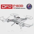 DFD F183D 四軸空拍機 遙控直昇機飛行器 200萬像素(白色)