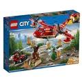 【台中翔智積木】LEGO 樂高 CITY 城市系列 60217 Fire Plane 消防飛機