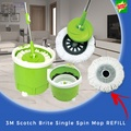 【3M Scotch Brite】Single Spin Mop REFILL