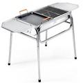 《WSH》韓式大號全功能不鏽鋼燒烤架高低可調(大全配)