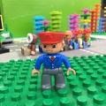 [宅媽]LEGO樂高 DUPLO得寶 人偶 大人 列車長