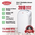 *NEW LAUNCH* EuropAce 12000 btu PORTABLE AIRCON (EPAC 12T8)