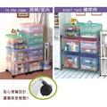 聯府 KEYWAY 強固型掀蓋整理箱3入 K016 3色 收納箱/置物箱/整理櫃