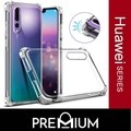 Anti Shock Tough Armor Slim Flexible Case Casing Phone Cases Cover For Huawei Mate 20 20X X  Pro 10 Nova 3i 2i  P20 - Clear