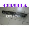 ●○RUN SUN 車燈,車材○● 全新 TOYOTA 豐田 93 94 95 96 97 COROLLA 卡羅拉 日規電鍍水箱護罩
