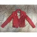 紅色Tough皮衣XS